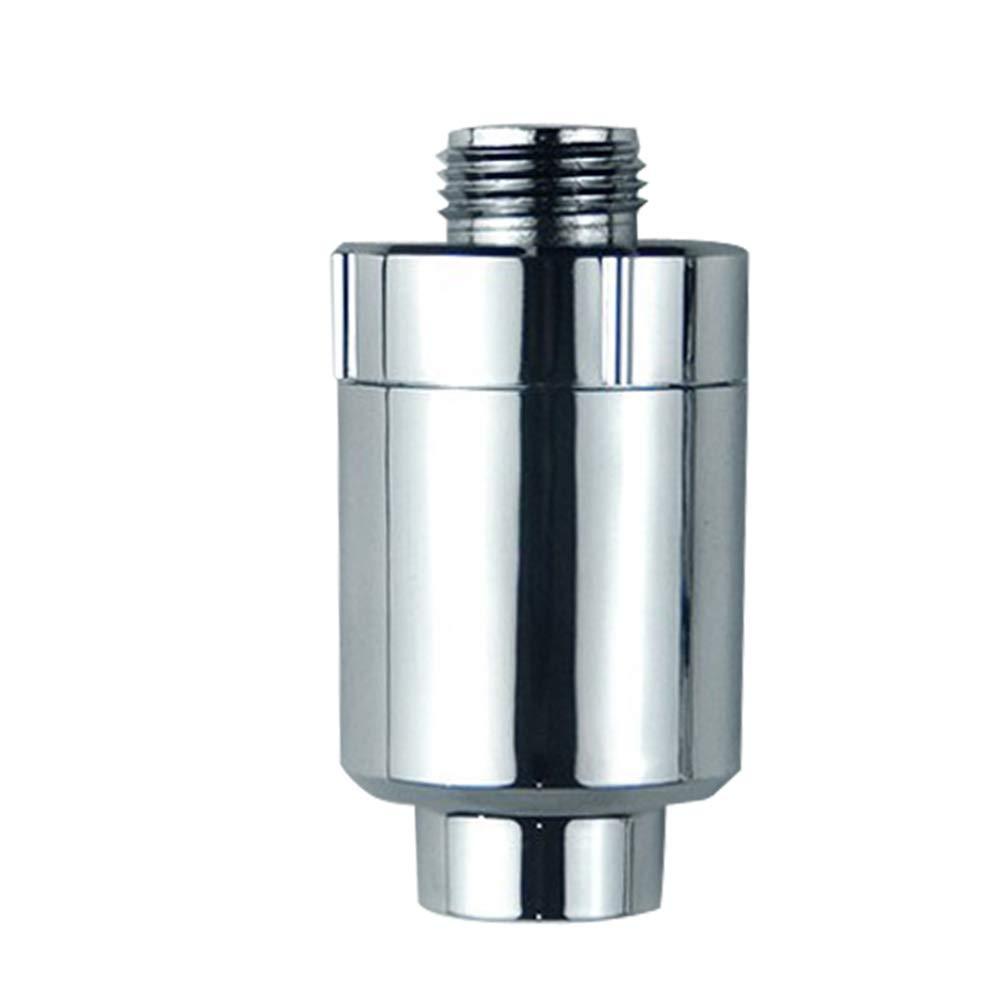 LanMiu Conector de la Ducha purificador de Agua baño casero Tesoro prefiltro Calentador de Agua rocío decloración purificador de Agua Faucet-8 Piezas de ...