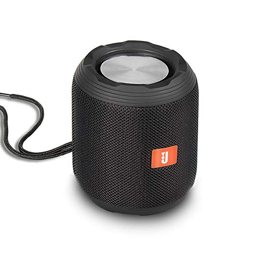 LISN 2.0 Cylinder Bluetooth Speaker,Portable Wireless Splashproof Stereo with HD Sound and Enhanced Bass,Built-in Microphone,USB Flash Drive&TF Card Player