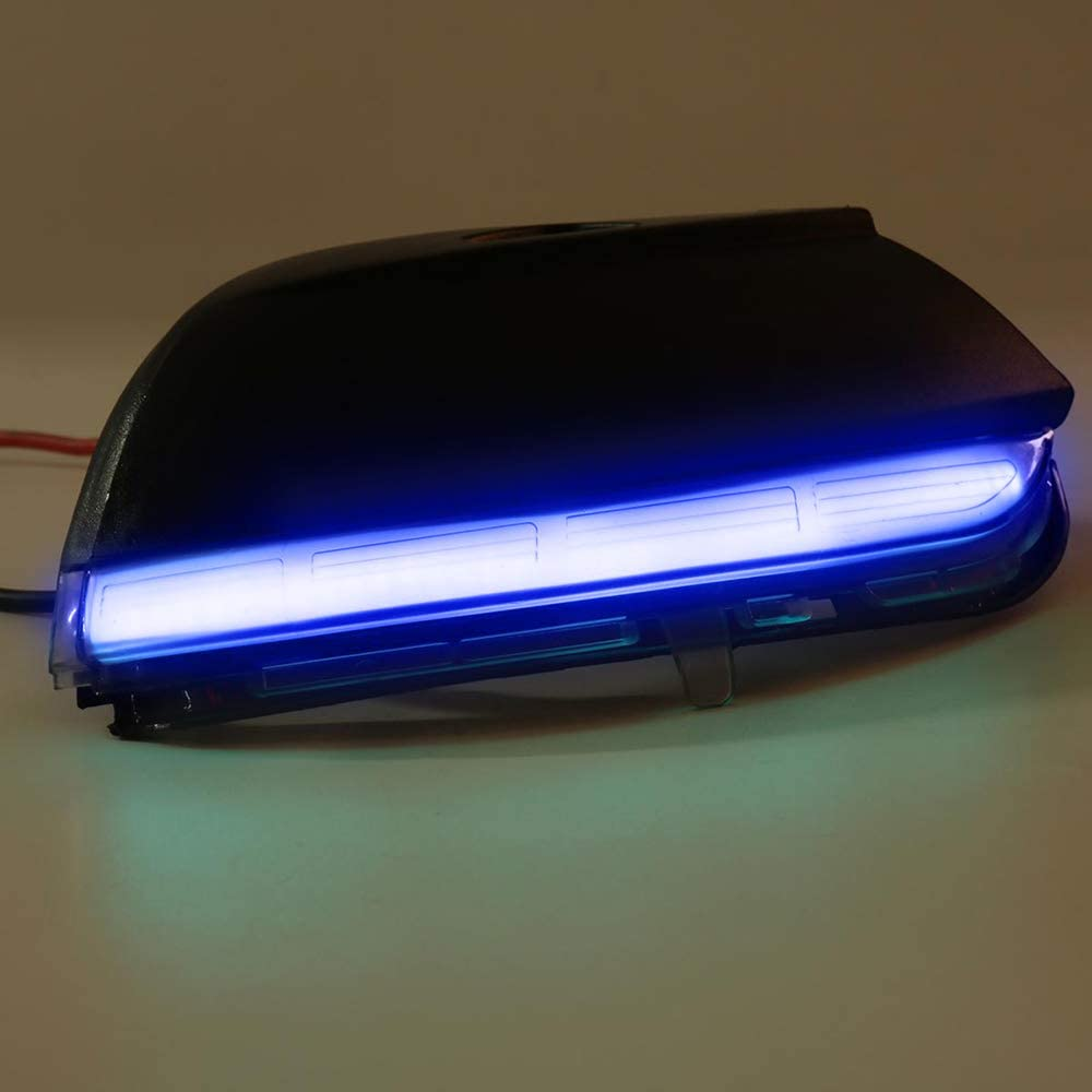 Smoked Lens Dynamic Blink LED Mirror Indicator Light Assembly for Passat B7 Scirocco MK3 CC EOS Beetle