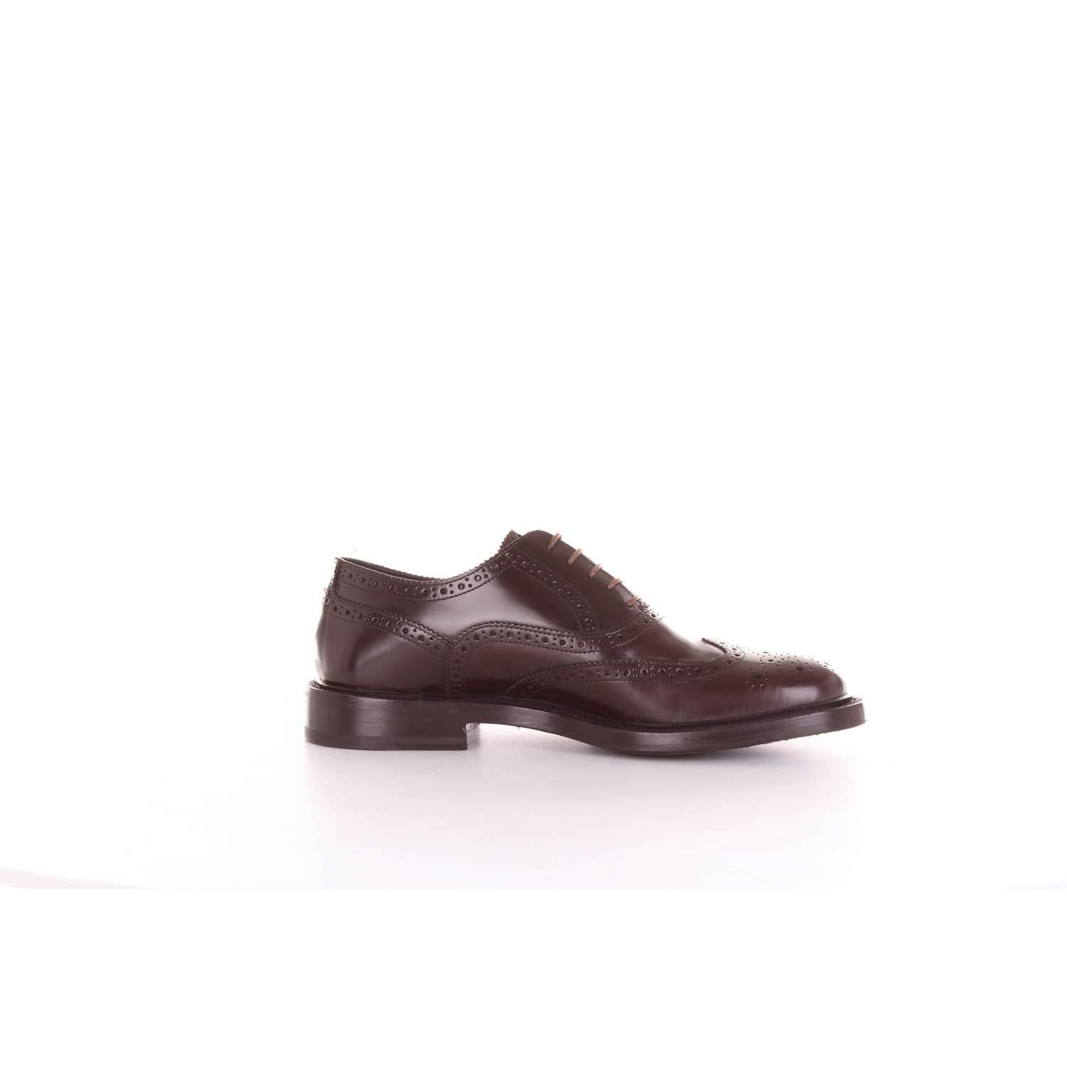 - ORTIGNI Men's 955803BROWN Brown Leather Lace-Up shoes