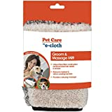 E-Cloth Pet Grooming & Massage Mitt - Safe & Chemical-Free for Dogs, Cats, Horses, Animals - Just Add Water