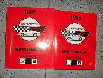 1995 Chevrolet Chevy Corvette Service Shop Manual Set (2 voume set.)