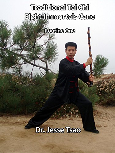 Traditional Tai Chi Eight Immortals Cane Routine One by