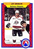 (CI) Jeff Greenlaw Hockey Card 1991-92 ProCards AHL IHL 547 Jeff Greenlaw