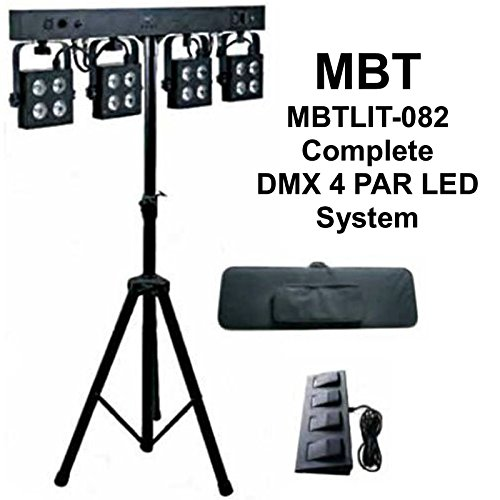 4Par Lighting System by MBT Lighting