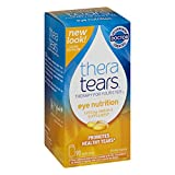 TheraTears Eye Nutrition Omega 3 Supplement, Value Size SP 2 Pack ( 180 Capsules Total ) Thera-nm
