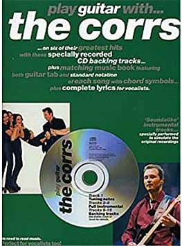 Play Guitar With... The Corrs. Partituras, CD para Acorde de ...