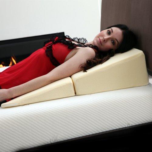 Lavish Home Folding Wedge Memory Foam Pillow - 31
