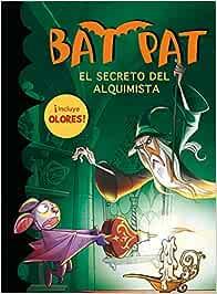 Bat Pat: el secreto del alquimista libro de olores Bat Pat