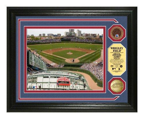(MLB Wrigley Field 24KT Gold & Infield Dirt Coin Photomint)