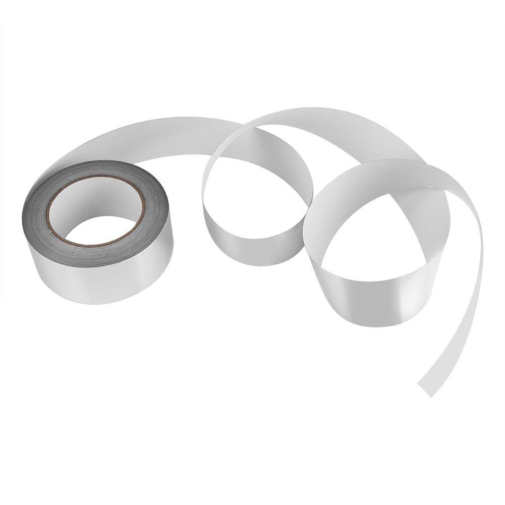 Zerodis 2'' x 164ft Silver Aluminium Foil Tape Adhesive Sealing Heat Shield Tape for Duct Metal Repair Insulation by Zerodis (Image #7)