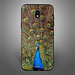 Samsung Galaxy J4 Peacock Feathers