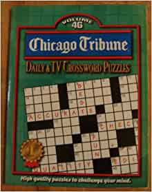 Critical image pertaining to printable chicago tribune crossword