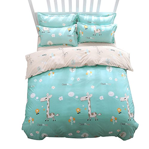 sohu-chen-student-dormitory-happy-deer-single-home-cute-4-sets-of-bed-green-7inch