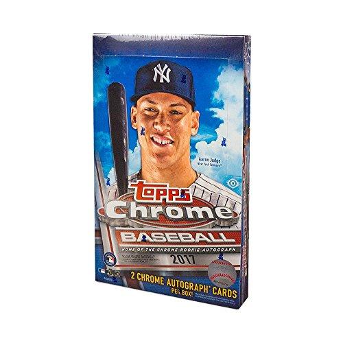 2017 Topps Chrome Baseball Hobby Box ()