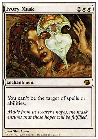 Magic: the Gathering - Ivory Mask - Eighth Edition - Foil