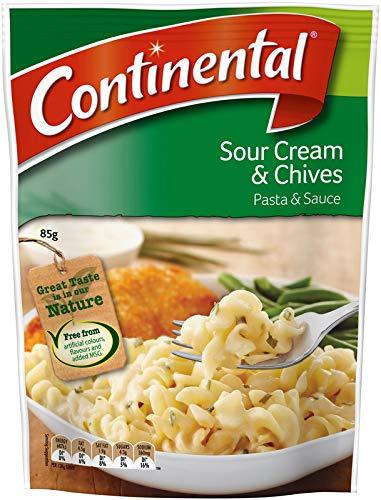 Continental, Pasta con Salsa de Crema Agria y Chile 85g: Amazon.es: Alimentación y bebidas