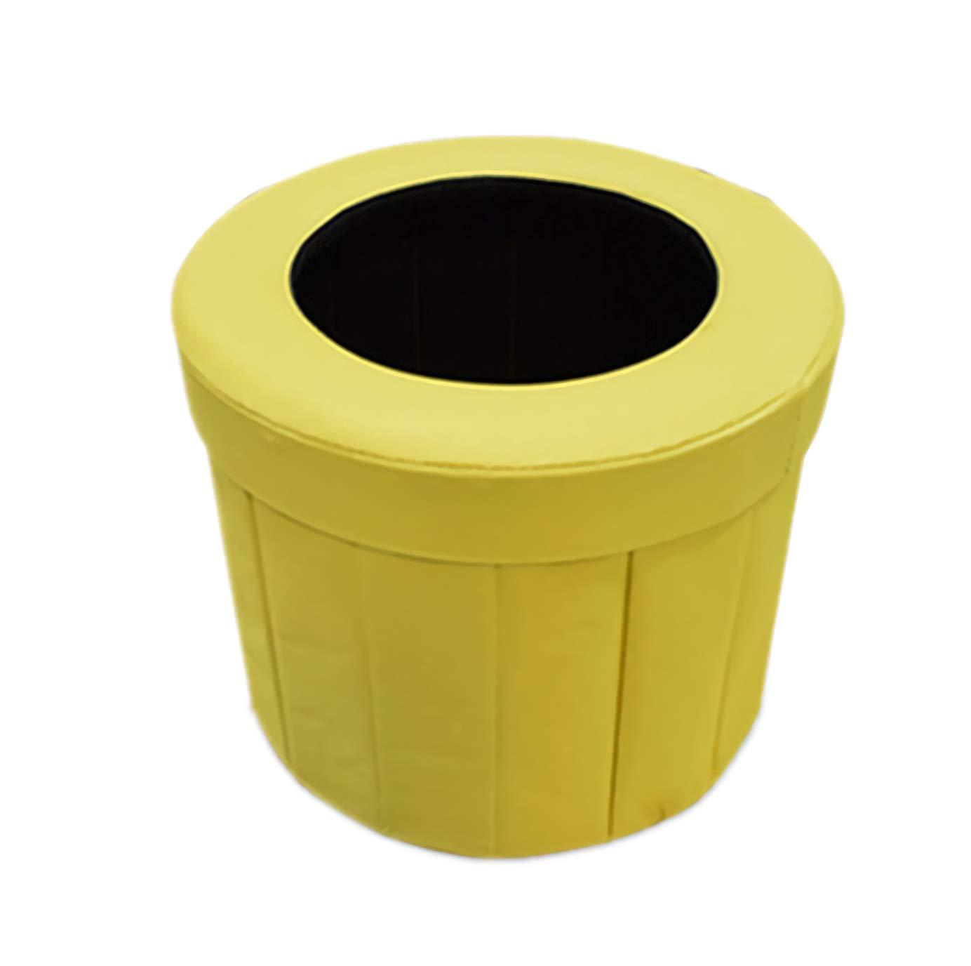 Qwhome Tragbare Zusammenklappbare Auto-Toilette/Fahrzeugurinbeutel - Geeignet Für Outdoor-Töpfchen Notfall, Camping Und Schlafen, Auto-Reisen, Schwangere Frauen