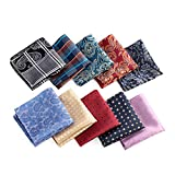 Mens Printing patterns Pocket Square Handkerchief Wedding Party