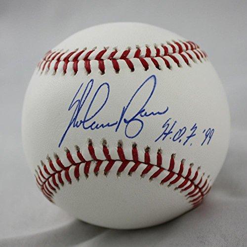 Nolan Ryan Autographed Rawlings OML Baseball W/ HOF- JSA (Nolan Ryan Hand Signed Baseball)