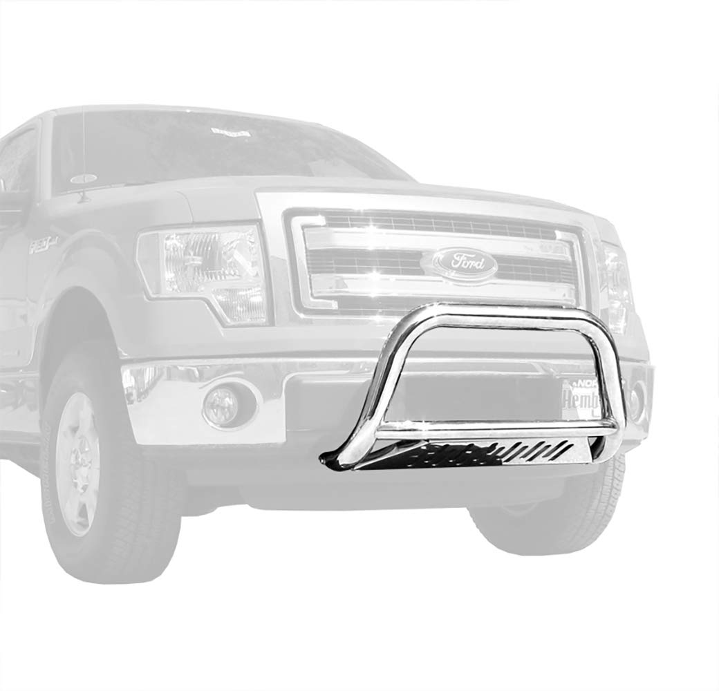 Tyger Auto Premium 3inch Stainless Steel Bull Bar Fits 2011-2017 Ford F150 Ecoboost