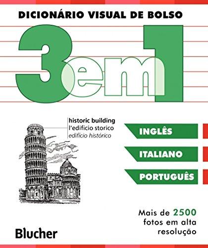 Dicionário Visual de Bolso - 3 em 1: Italiano/Inglês