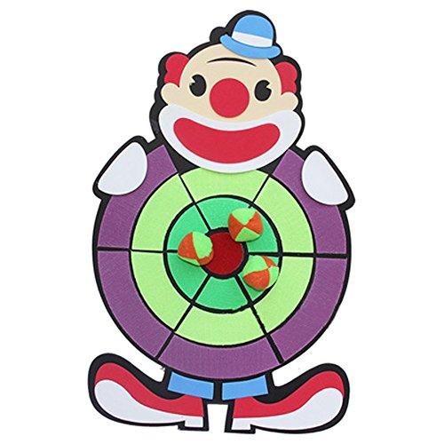 子供たちダーツボードおもちゃ漫画ダーツボード ピエロ