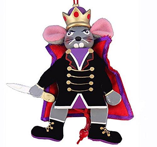 Nutcracker Ballet Mouse King Wood Dancing Pull Puppet ()