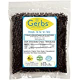 Dark Chocolate Chips, 2 LBS (68% Cacao) by Gerbs - Top 12 Food Allergen Free & NON GMO - Product of Canada – Miniature Size