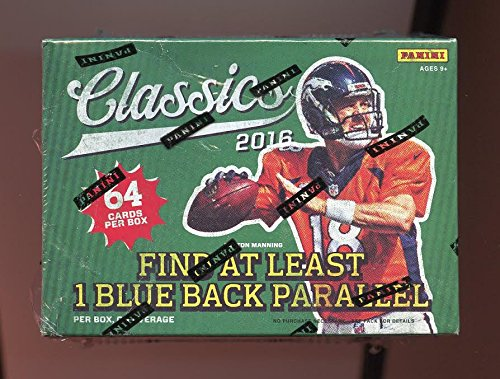 2016 Panini Classics Football Trading Cards Sealed 64 card Retail Blaster Box Lot 8 Packs Look for Rookies of Dak Prescott & Ezekiel Elliott