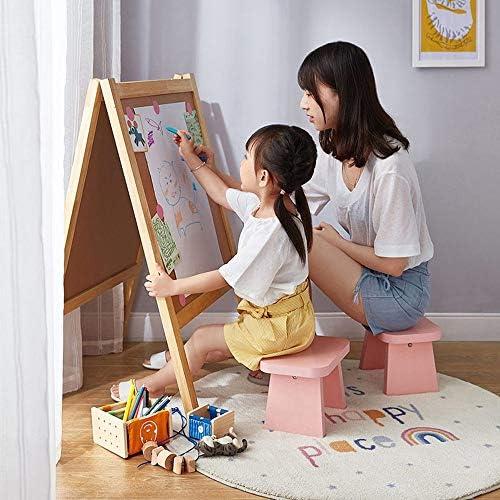 HAOHAO Rose Petit Banc Tabouret de Pied Tabouret de Changement de Chaussures ménage Chaise bébé Tabouret Enfants