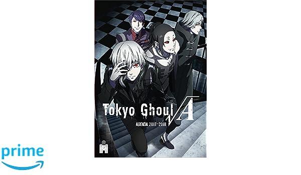 Agenda Tokyo Ghoul 2017-2018 (YNI.LIVRES): Amazon.es: Ynnis ...