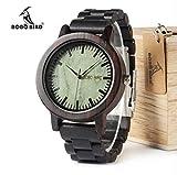 GadgetsMX Reloj De Madera Bobo Bird 100% Original Modelos (Eslabones Oscuro)