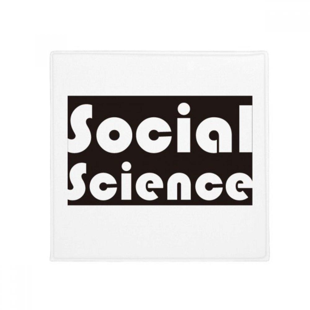 DIYthinker Course and Major Soical Science Black Anti-Slip Floor Pet Mat Square Home Kitchen Door 80Cm Gift