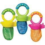 Munchkin Fresh Soft Food Baby Feeder BPA Free 6 months + (Colours May Vary)