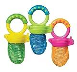 Munchkin Fresh Soft Food Baby Feeder BPA Free 6 months + (Blue/Green)