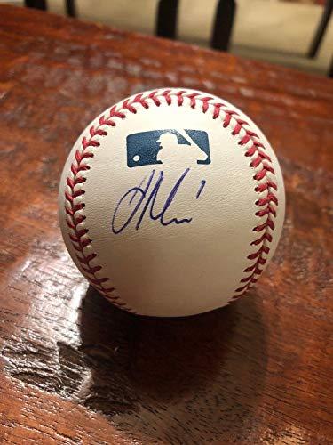 Joe Mauer Autographed Signed Official Major League Baseball Beckett Authentic Bas COA Minnesota Twins