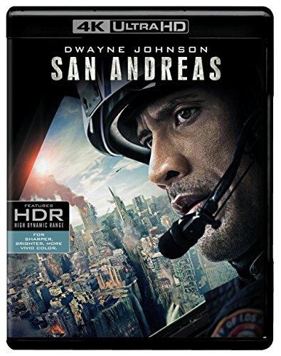 DVD : San Andreas [4K Ultra HD + Blu-ray + Digital HD]