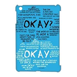 CTSLR Design Funny The Fault In Our Stars Hard Case Cover Skin for iPad Mini and iPad Mini 2 Retina Display-1 Pack- 5 by supermalls
