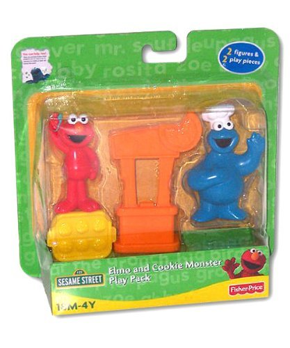 (Sesame Street: Elmo & Cookie Monster Play Pack)