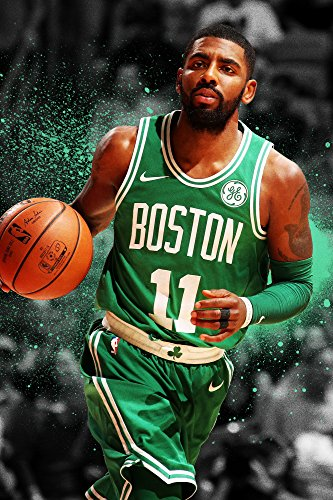 Kyrie Irving Boston Celtics Basketball Limited Print Photo Poster Size 24x36