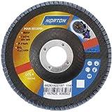 Norton Disque à lamelles fibre technique Norzon 125 x 22 mm Grain 60