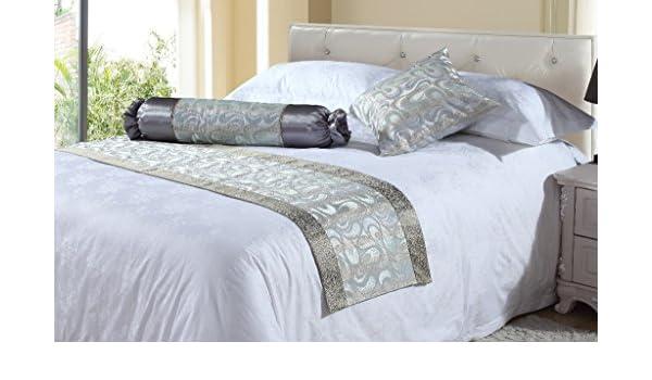 BURS Continental Hotel extremo de la cama toallas cama flag toalla del hotel estrella cama del hotel bandera cama extremo de la cama , 240*50 (1.8 m bed): ...