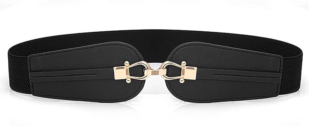 Cinturino con Fibbia per Cintura Elastico in Vita Elasticizzata A Vita Larga Selvaggia Elastica Cintura per Il Vestito Jeans