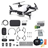 DJI Mavic Air Fly More Combo (Arctic White) Portable Quadcopter Drone Bundle with Additional Memory Card and More Review