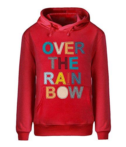 Eagle u2 Men's Cozy fleece hoodie Over The Rainbow - Case Zipper Von Goggle