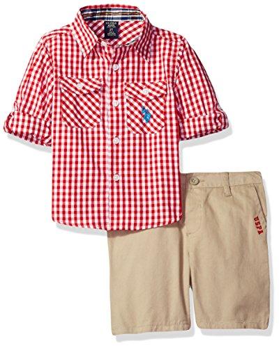 Gingham Check Woven Shirt - 3