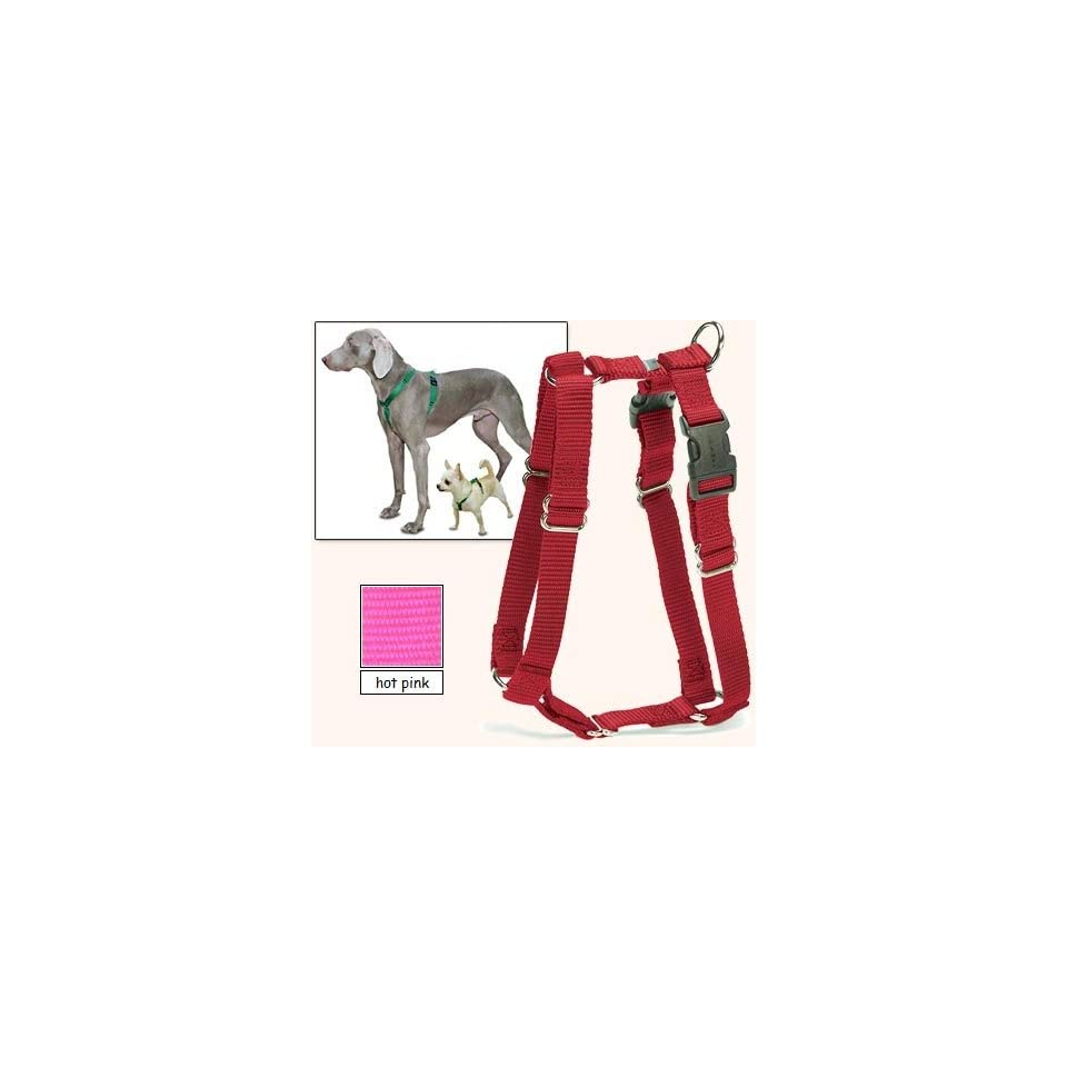 Sure Fit Dog Harness, 5 Way Adjustability for a Perfect Fit (Hot Pink, X Petit)