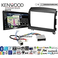 Volunteer Audio Kenwood DNX574S Double Din Radio Install Kit with GPS Navigation Apple CarPlay Android Auto Fits 2006-2008 Hyundai Sonata