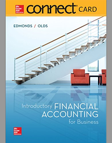 Connect Access Card for Introductory Financial Accounting for Business